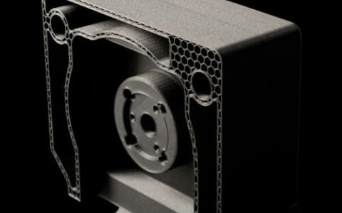 Querschnitt Filterkassette Medizintechnik