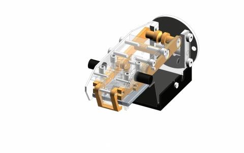 Konstruktion Miniaturgreifer Monovetten
